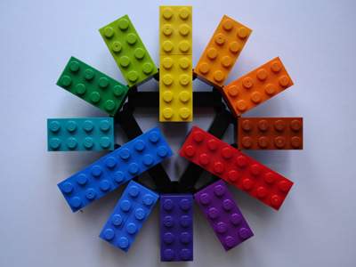 Double Lego rainbow!
