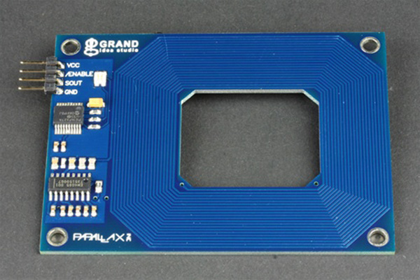 In the Maker Shed: RFID Card Reader