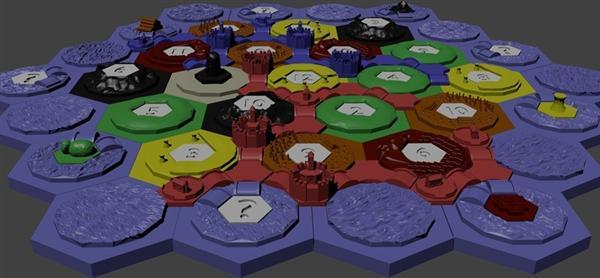 Thingiverse 3D Catan Pieces:  Legal?