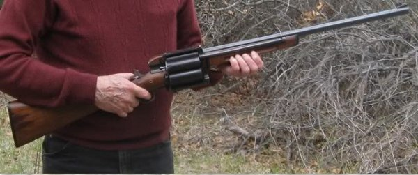 Homemade Revolving Shotgun