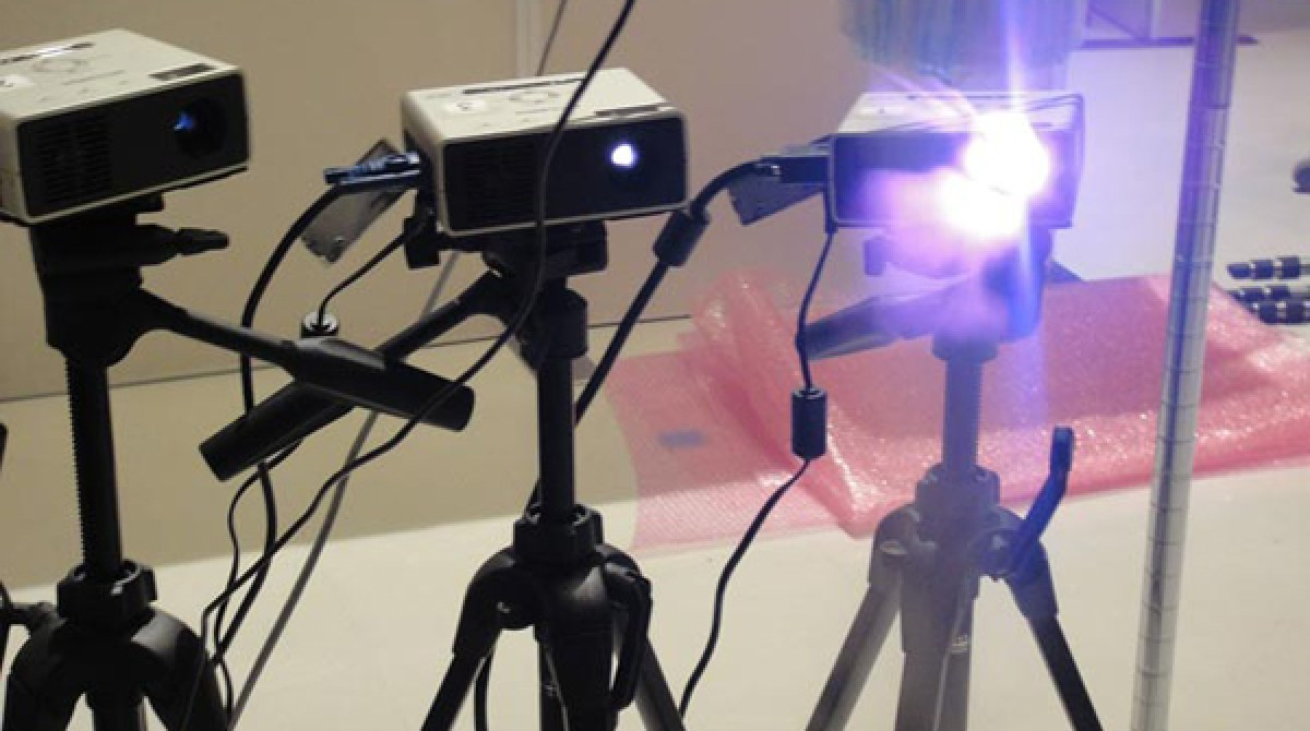 3D Volumetric Fog Display | Make: