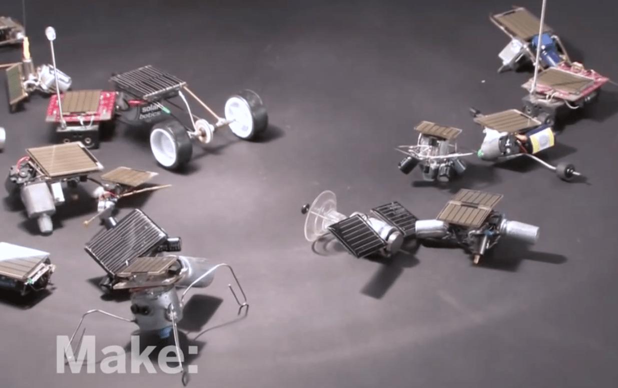Maker Workshop – Miniature Robots on Make: television