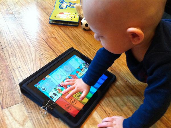 iPad Home Button Child Lock