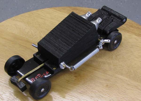Printable C02-Powered Pinewood Derby Motor