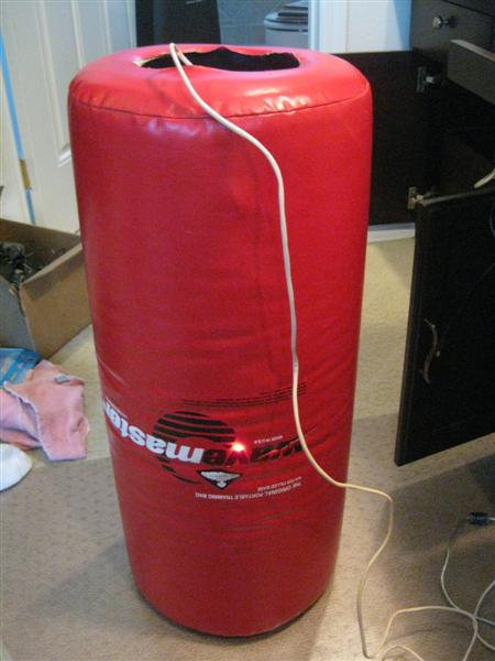 Interactive Punching Bag is Like a Simon That You Hit