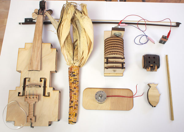 Make: Live is Tonight! DIY Musical Instruments