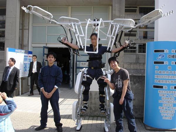 """""""Skeletonics"""" Exoskeleton Is Kinda Like Stilts For Your Whole Body"""