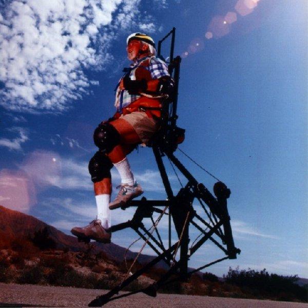 """Blast From The Past: """"SpringWalker"""" Running Exoskeleton"""