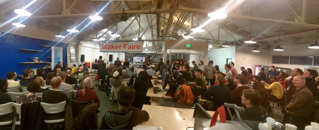 Maker Faire Town Hall Saturates TechShop SF