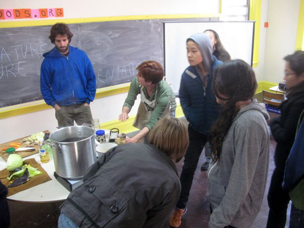 Barter for Instruction at Trade School