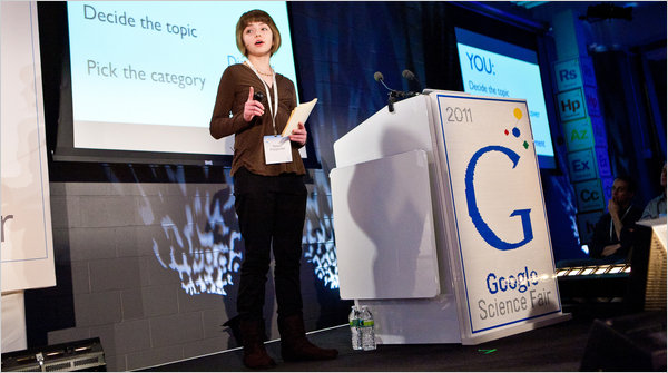 Google Starts Science Fair, Pitching Products to Students
