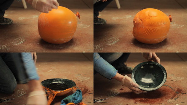How-To:  Cast A Bowl Between Two Balloons