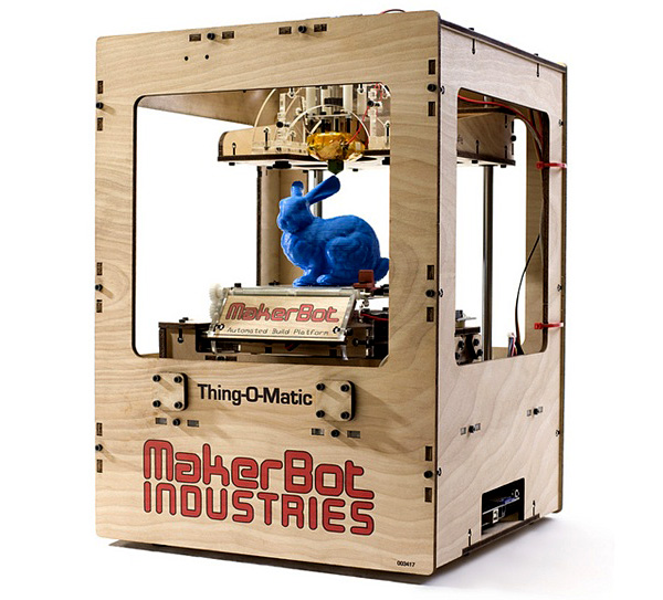 New In the Maker Shed: MakerBot Thing-O-Matic 3D Printer Kit