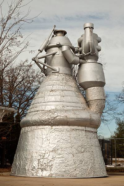 For Sale: Full-Scale Saturn V F-1 Engine Model