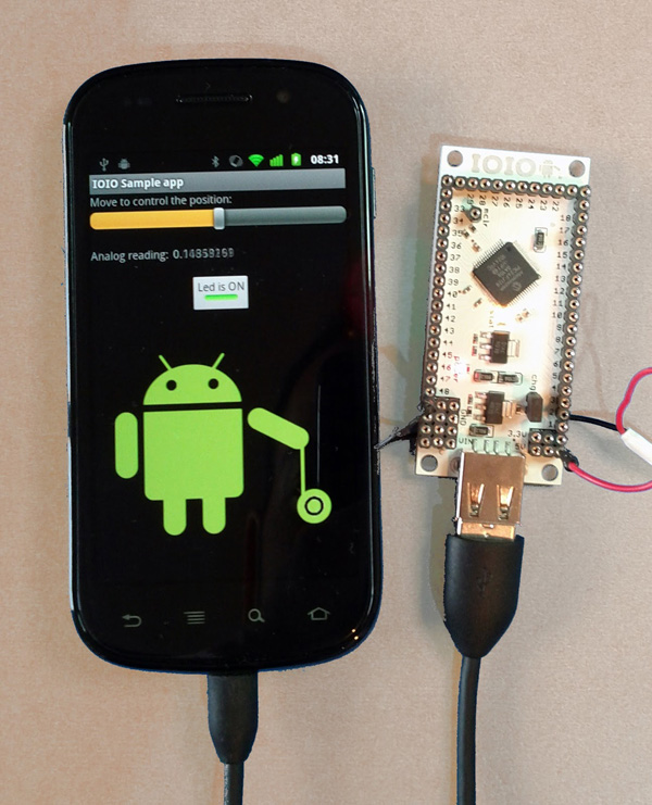 IOIO Lets You Control Your Electronics Project From Your Android Phone