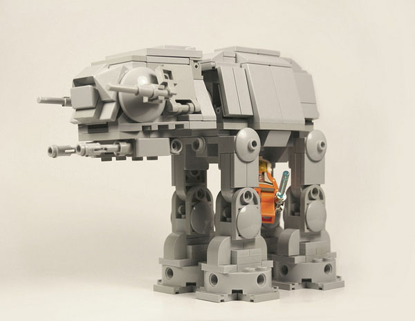 Confusingly Adorable Lego AT-AT