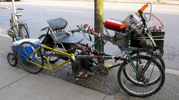 Hacked-Together Mad Max Ebike Contraption