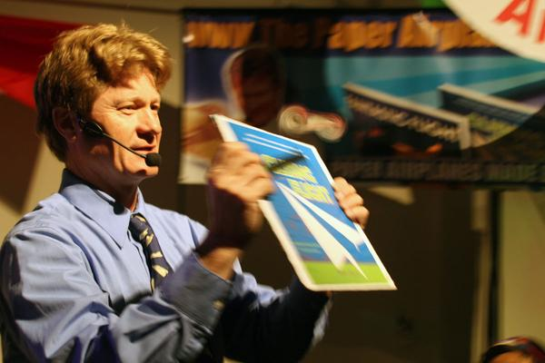 Maker Faire Bay Area: The Paper Airplane Guy Interview
