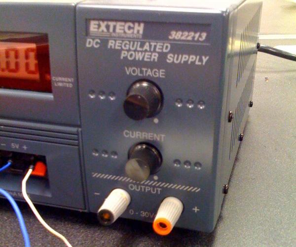 Toolbox Review: Extech 382213 Desktop Power Supply