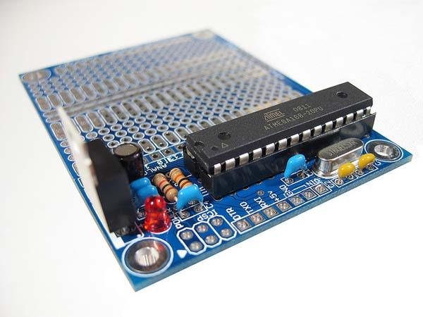 In the MakerShed: Prototino ATMega328 Kit