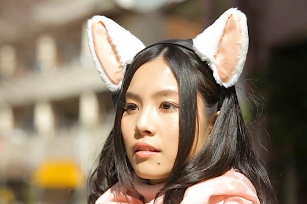 Brainwave-Controlled Fuzzy Cat Ears