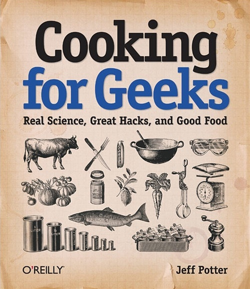 In the MakerShed: Cooking for Geeks