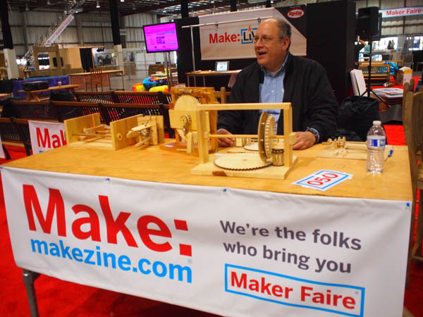 Maker Faire Gets Rolling
