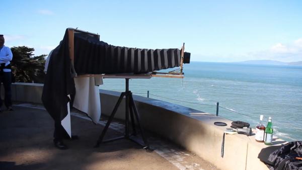 Gigantic DIY Ultra-large Format Film Camera