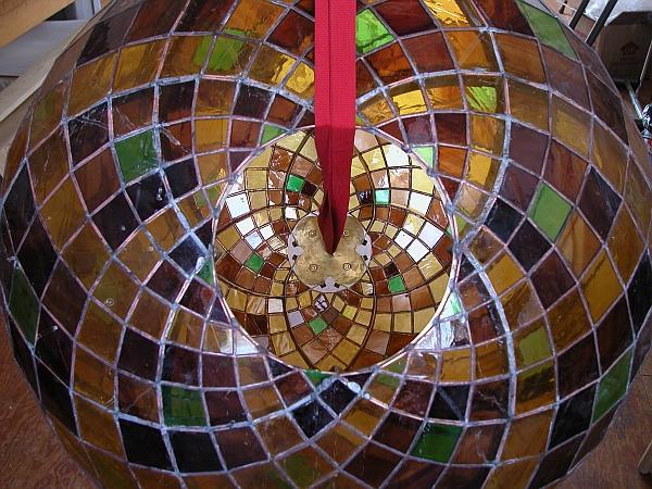 Math Monday: Stained Glass Polar Zonohedron