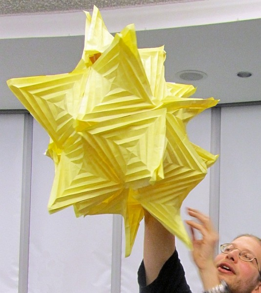 Math Monday: Fold Your Own Hyperbolic Paraboloids