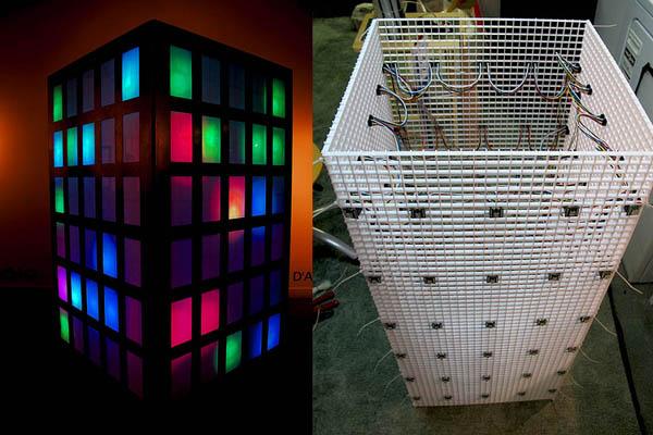 Interactive Light Sculpture