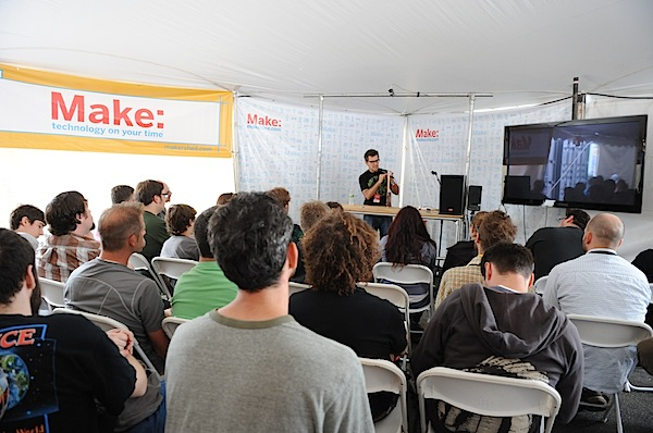 Streaming Demos Live from Maker Faire Bay Area 2011
