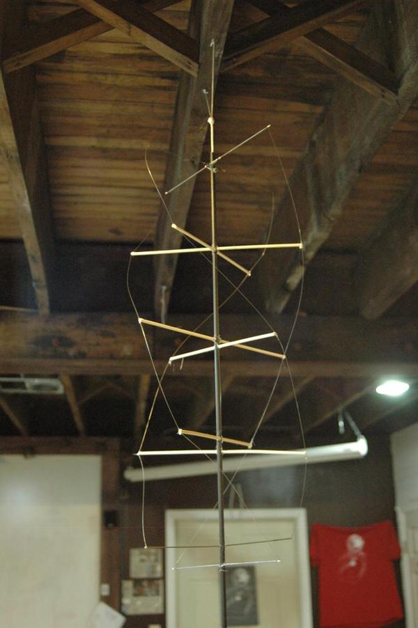 How to Build the World's Lightest Quadrifilar Helix Antenna