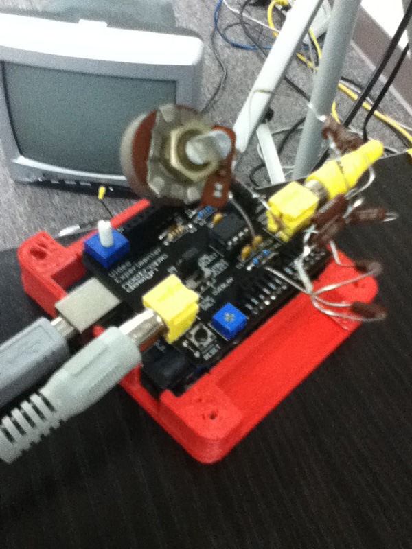 Using Arduino to Pull Images from an Analog Camera