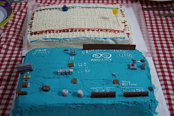 Arduino and Breadboard Cakes