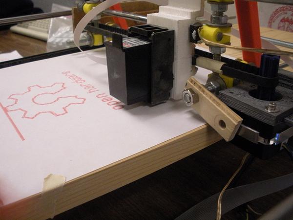 DIY Open Source Inkjet Printer