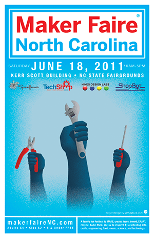 Maker Faire North Carolina Today