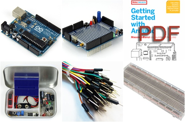 New in the Maker Shed: Microcontroller Quick Launch Pack