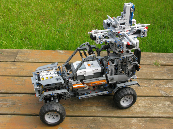 Lego Street View Car