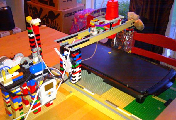 Lego Pancake-Batter CNC