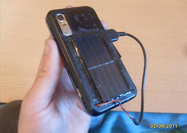 Solar Cellphone