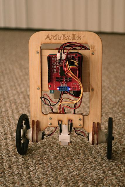 Arduino-Based 2-Wheel Balance Bot