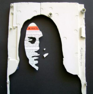 Keyboard Skull Art and More