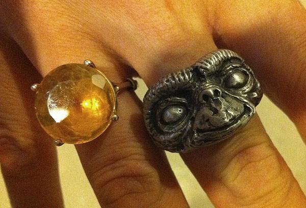 E.T. Rings