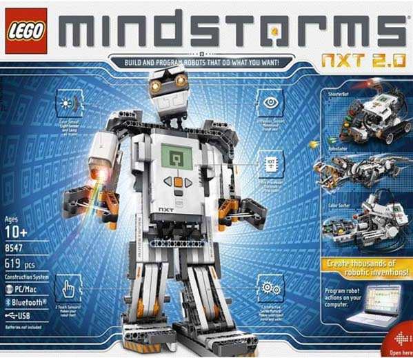 New in the Maker Shed: Lego Mindstorms NXT 2.0