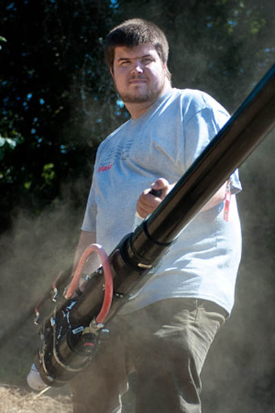 Intern's Corner: Dan Spangler and His Combustion Cannon