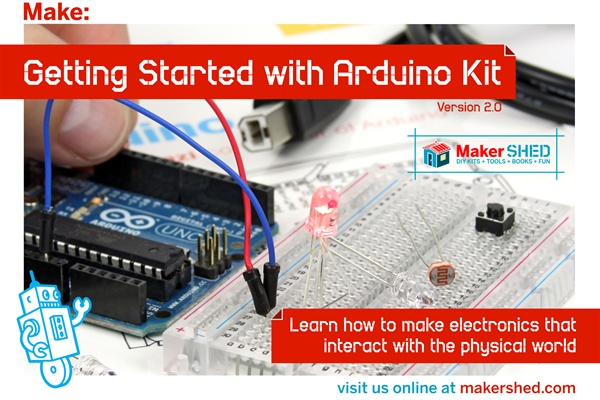 In the Maker Shed: Getting Started with Arduino Kit V2