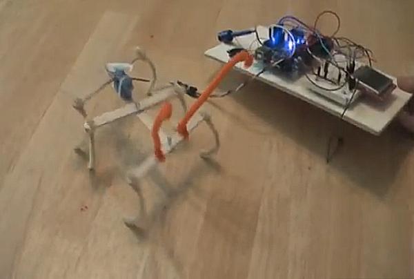 How-To: Make a PopsicleBot 6-Legged Walker