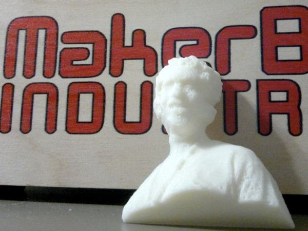 Printing your Kinect scans on a MakerBot Thing-O-Matic