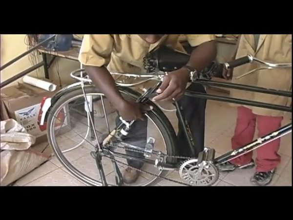 Support the Young World Inventors web series, get a bike-powered cell phone charger